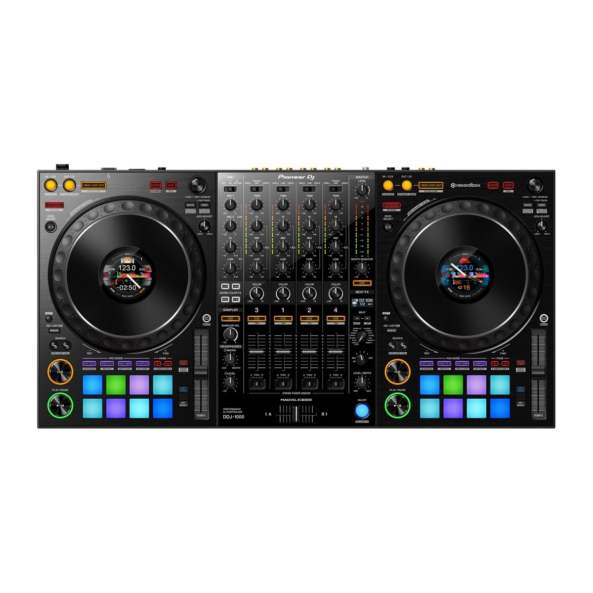 pioneer dj ddj 1000 rekordbox dj controller at. Black Bedroom Furniture Sets. Home Design Ideas