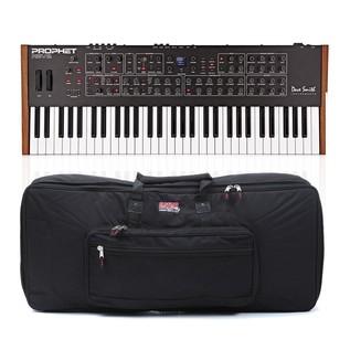 Dave Smith Instruments Prophet Rev2 8 Voice Analog Poly Synth & Case - Bundle