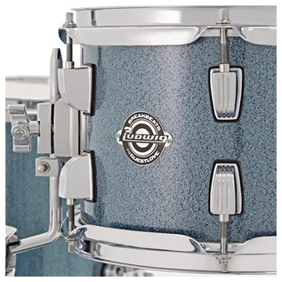 Ludwig Breakbeats Questlove 16in 4Pc Shell Pack, Azure Blue Sparkle