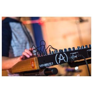 Arturia MiniBrute 2 Semi-Modular Analogue Synthesizer - Lifestyle 4