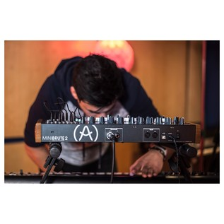 Arturia MiniBrute 2 Semi-Modular Analogue Synthesizer - Lifestyle 5