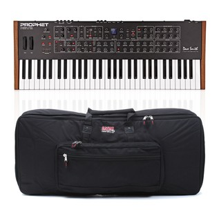 Dave Smith Instruments Prophet Rev2 16 Voice Analog Poly Synth & Case - Bundle