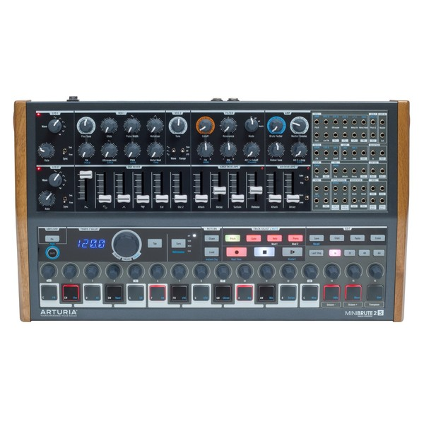 Arturia MiniBrute 2S Semi-Modular Analog Sequencing Synth Module - Main