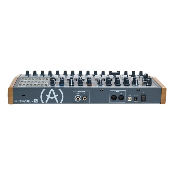 Arturia MiniBrute 2S Semi-Modular Analog Sequencing Synth Module - Back