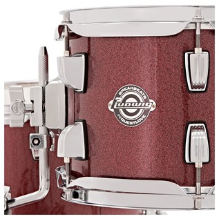 Ludwig Breakbeats Questlove 16in 4Pc Shell Pack, Wine Red Sparkle