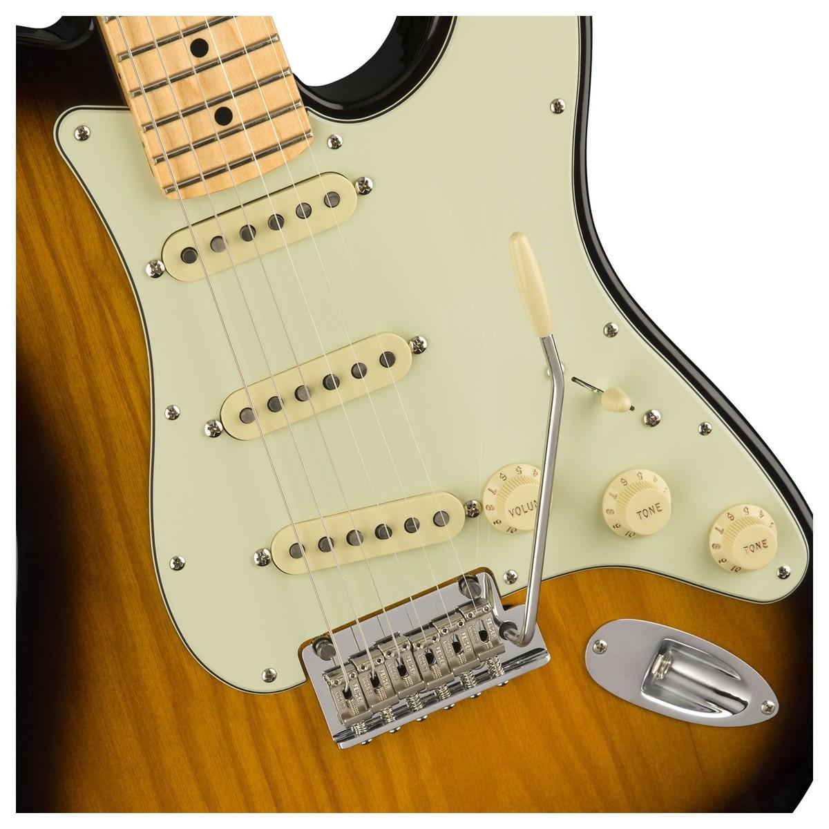 Disc Fender Ltd Strat Tele Hybrid Mn 2 Tone Sunburst At Gear4music Telecaster Style Wiring Solution For A Humbucker Loading Zoom