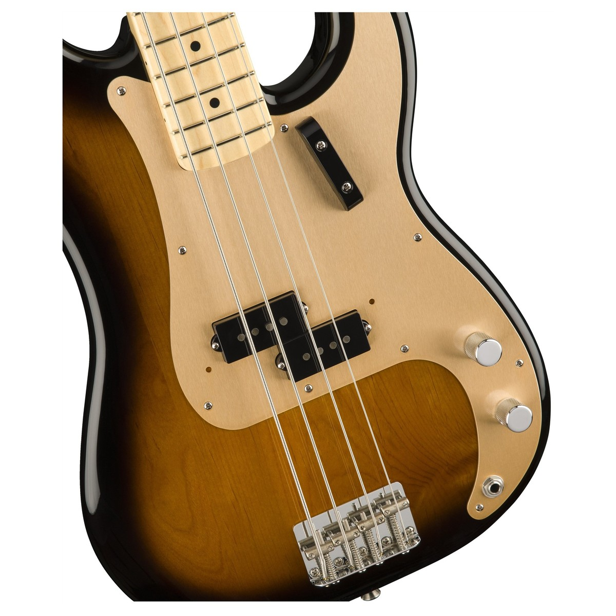 fender american original 39 50s p bass mn 2 tone sunburst at gear4music. Black Bedroom Furniture Sets. Home Design Ideas