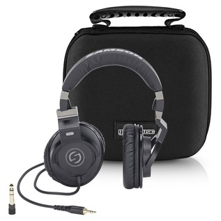 Samson Z35 Studio Headphones With Case - Full Bundle