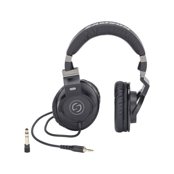 Samson Z35 Headphones - Front Rotated