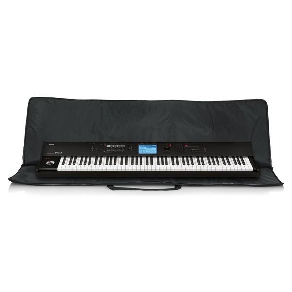 Gator 88 Key Economy Keyboard Bag, Open with Keyboard