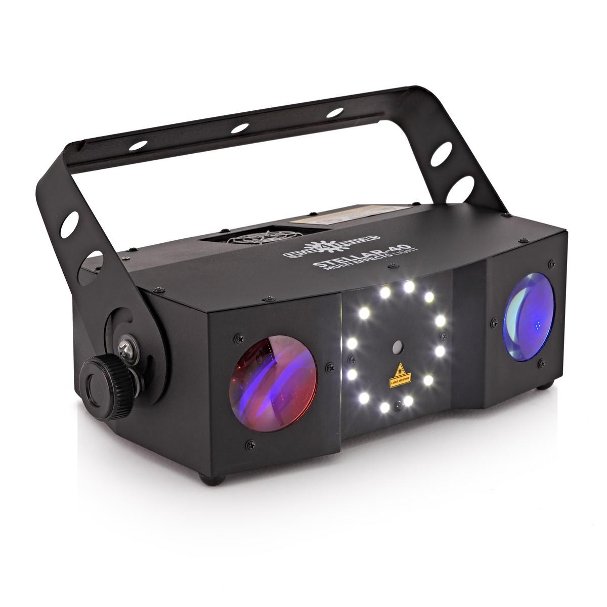 Stellar 40 W Multi Fx Led Stroboscope Et Laser Par Gear4music Strobe Light Effect Beam By Loading Zoom