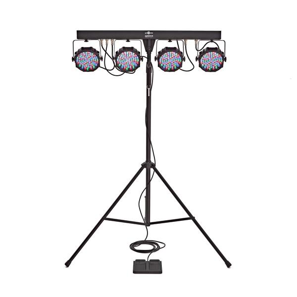 80w LED Par Set by Gear4music