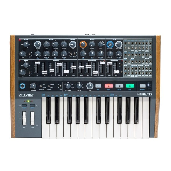 Arturia MiniBrute 2 Semi-Modular Analog Synthesizer - Top