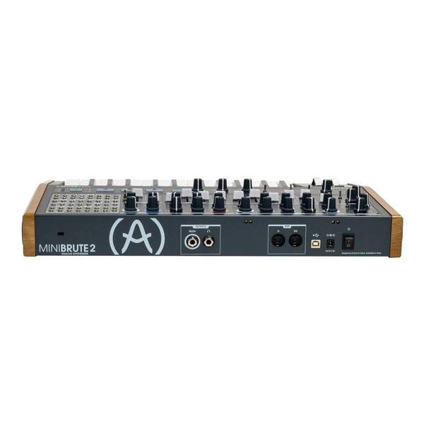 Arturia MiniBrute 2 Synthesizer - Rear