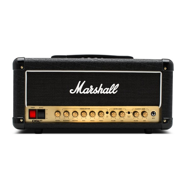 Marshall DSL20HR 20W Valve Head with Reverb