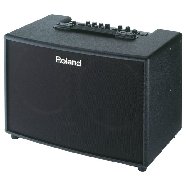 Roland AC-90 Acoustic Chorus Guitar Amplifier Angle