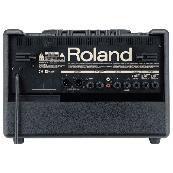 Roland AC-60 Acoustic Chorus Guitar Amplifier Back