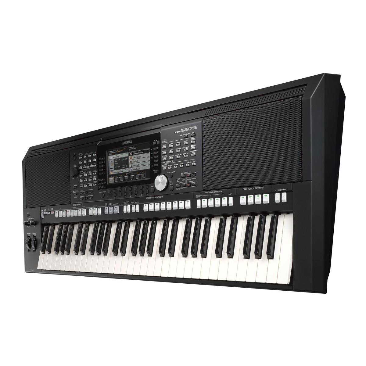 Portable Keyboard Vs Arranger Workstation : yamaha psr s975 portable arranger workstation at gear4music ~ Hamham.info Haus und Dekorationen