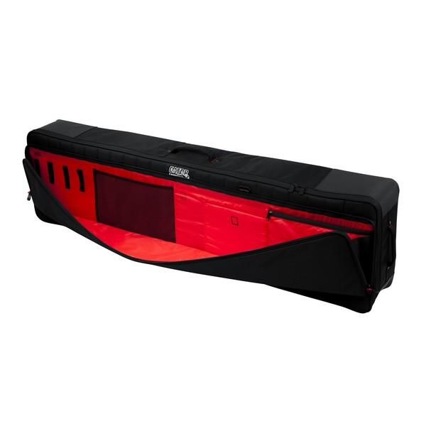 Gator G-PG-88SLIMXL Pro-Go Slim XL 88 Key Keyboard Bag, Exterior Pocket