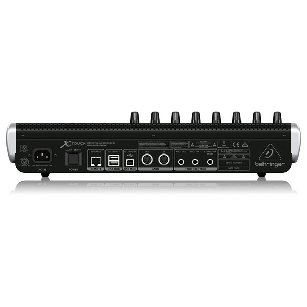 Behringer X-Touch rear panel