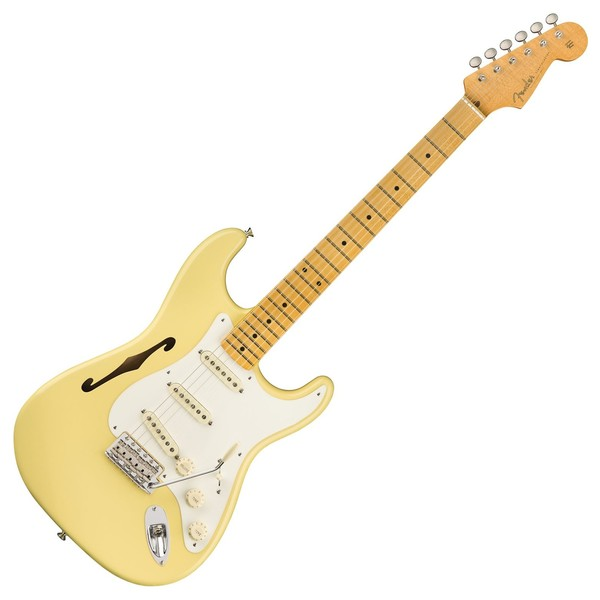 Fender Eric Johnson Thinline Stratocaster MN, Vintage White