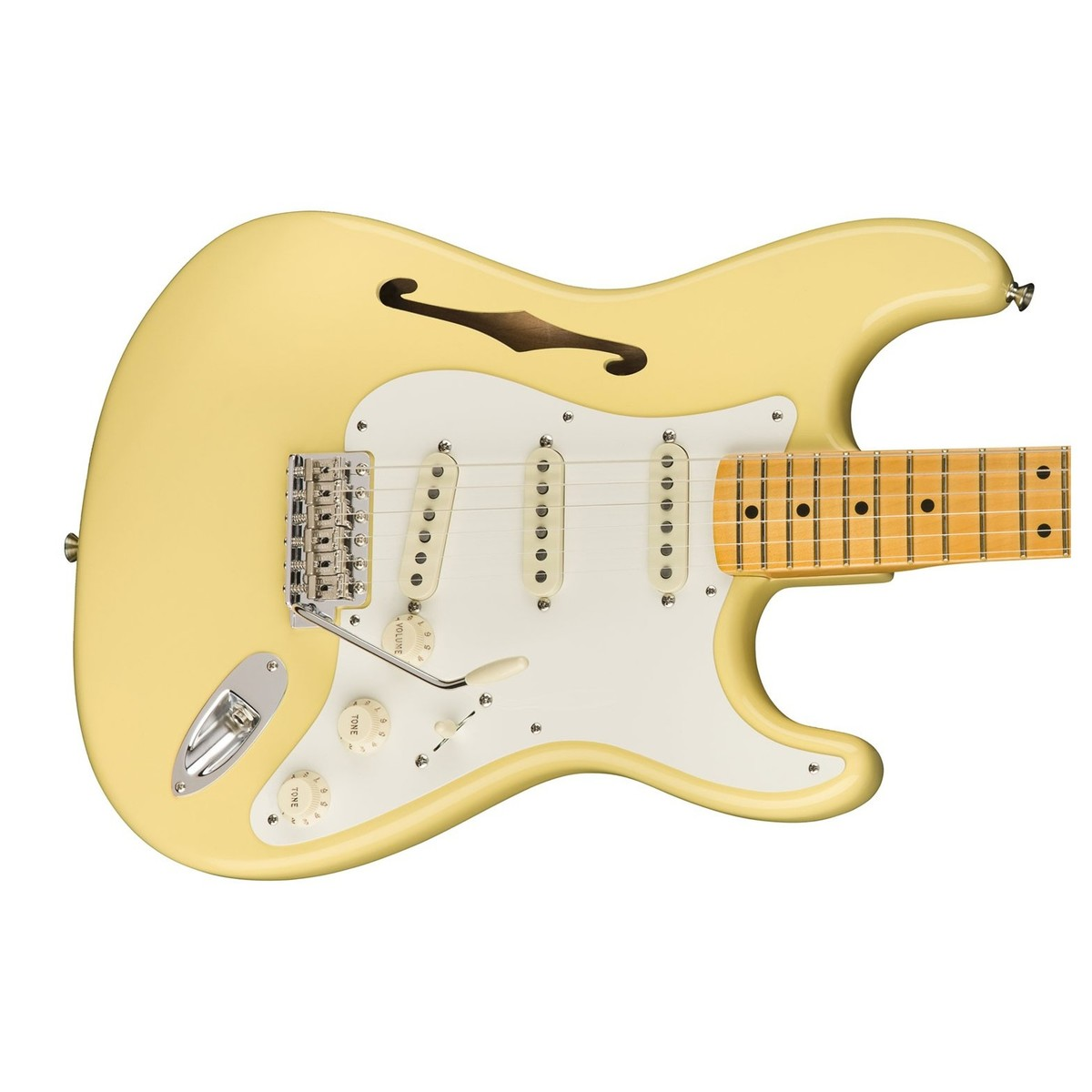 Fender Eric Johnson Thinline Stratocaster MN, Vintage White bei ...