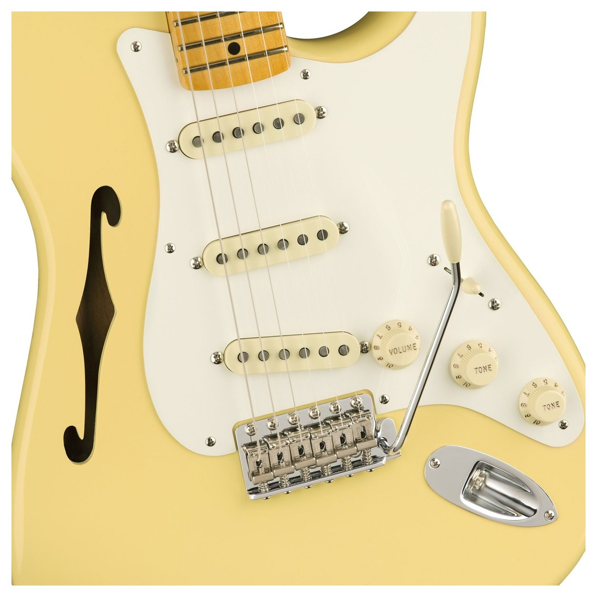 Schema Elettrico Johnson : Fender eric johnson thinline stratocaster mn vintage white a