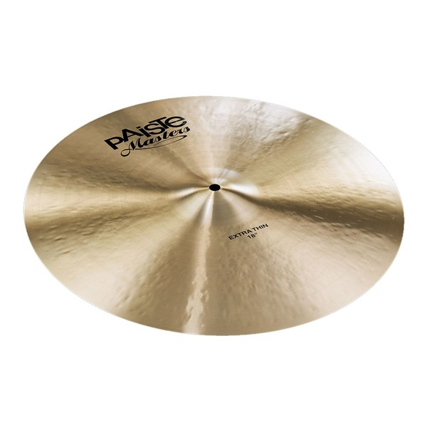 "Paiste Masters 18"" Extra Thin Crash Cymbal"