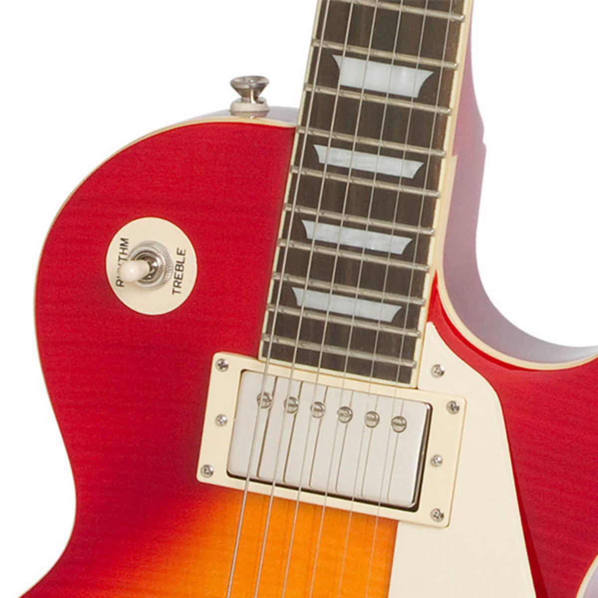 epiphone les paul standard plustop pro guitare electrique heritage cherry sunburst bo te. Black Bedroom Furniture Sets. Home Design Ideas