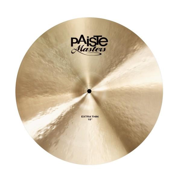 "Paiste Masters 19"" Extra Thin Crash Cymbal"