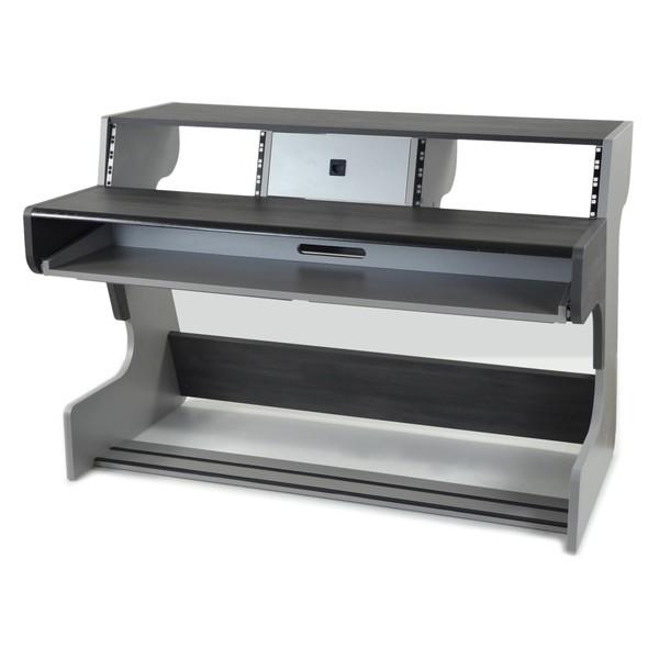 Zaor Miza 88 Studio Desk, Black Wenge - Angled