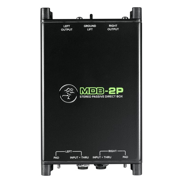Mackie MDB-2P Stereo Passive DI Box 1