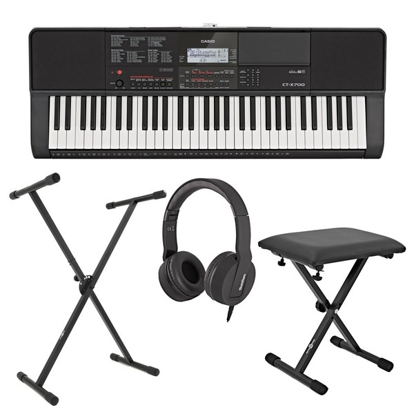 Casio CT-X700 Portable Keyboard Package