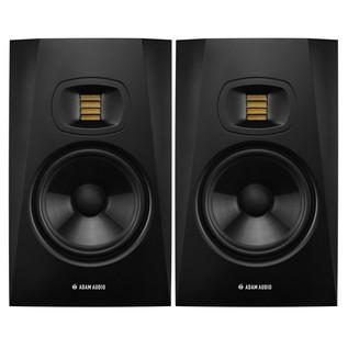 Adam Audio T7V Studio Monitors (Pair) - Bundle