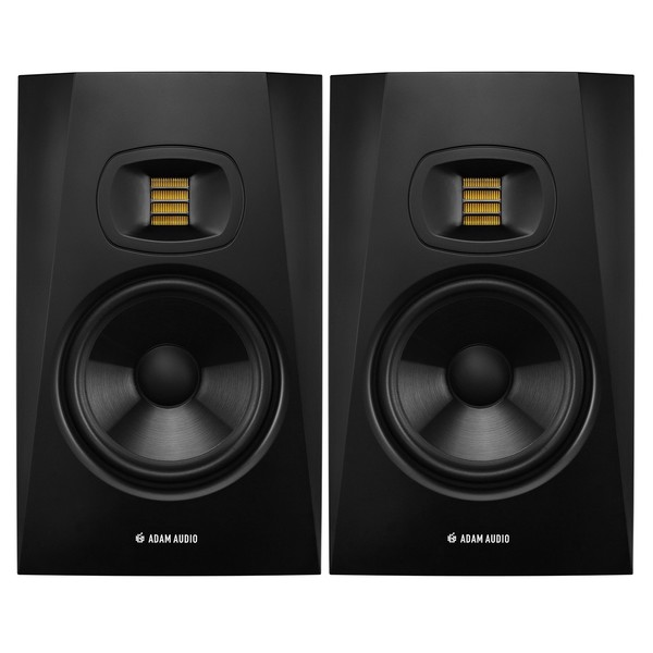 Adam Audio T7V Studio Monitors (Pair) - Bundle