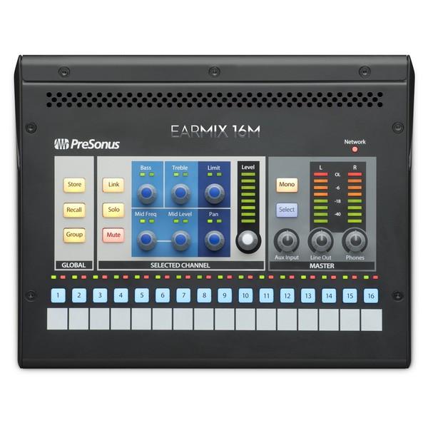 PreSonus Earmix 16M 16x2 AVB-Networked Personal Monitor Mixer 1