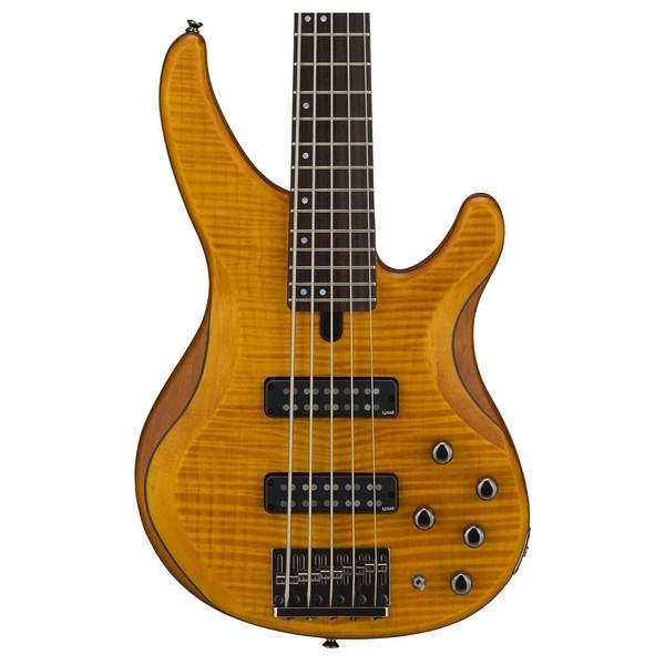 yamaha trbx605fm 5 string bass matte amber at gear4music. Black Bedroom Furniture Sets. Home Design Ideas