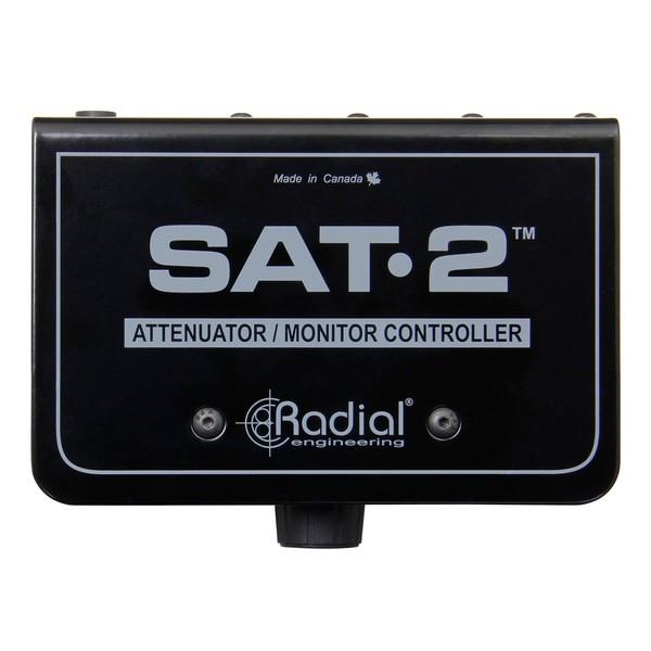 Radial SAT-2 Stereo Audio Attenuator & Monitor Controller 1