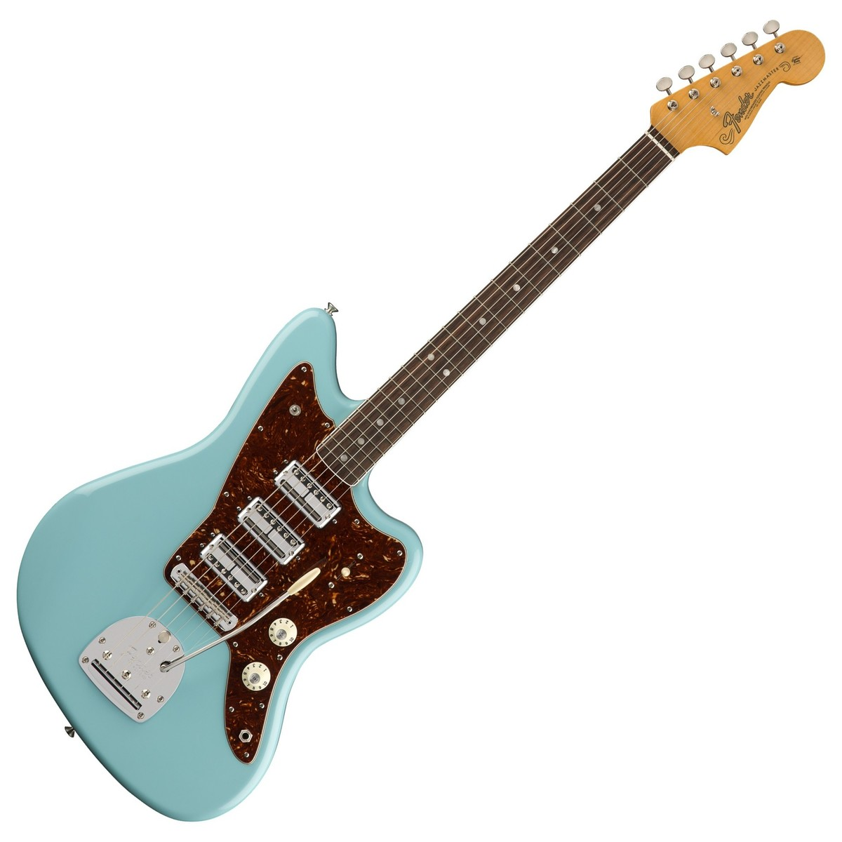 fender 60th anniversary triple jazzmaster rw daphne blue at gear4music. Black Bedroom Furniture Sets. Home Design Ideas
