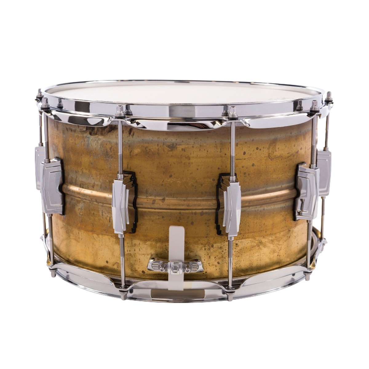 Ludwig 14\'\' x 8\'\' Raw Brass Snare Drum bei Gear4music
