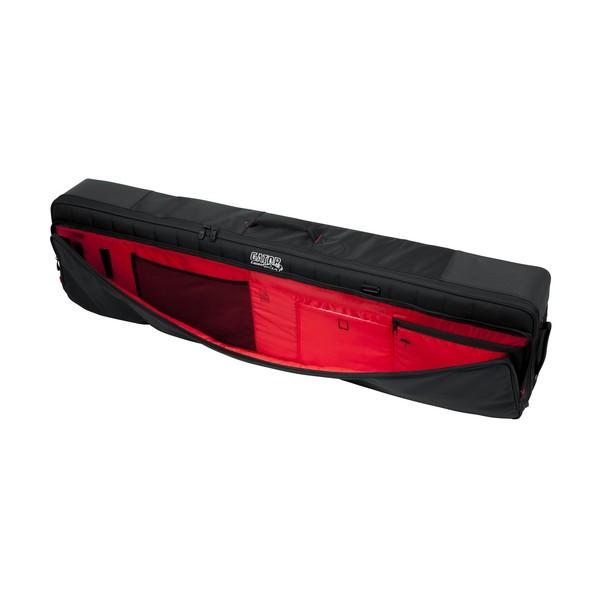 Gator G-PG-76SLIM Pro-Go Slim 76 Key Keyboard Bag, Front Pocket