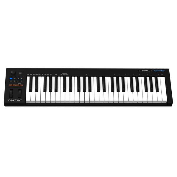 Nektar Impact GX49 Controller Keyboard - Top View