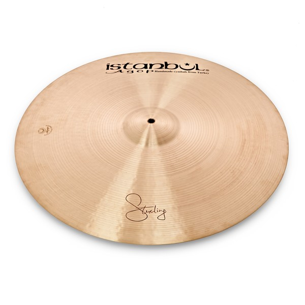 """Istanbul Agop 22"""" Sterling Ride Cymbal"""