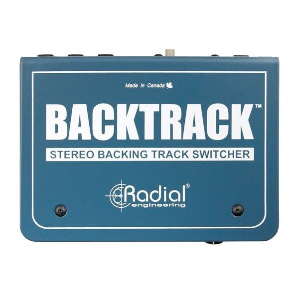 Radial Backtrack Stereo Audio Switcher - Top View