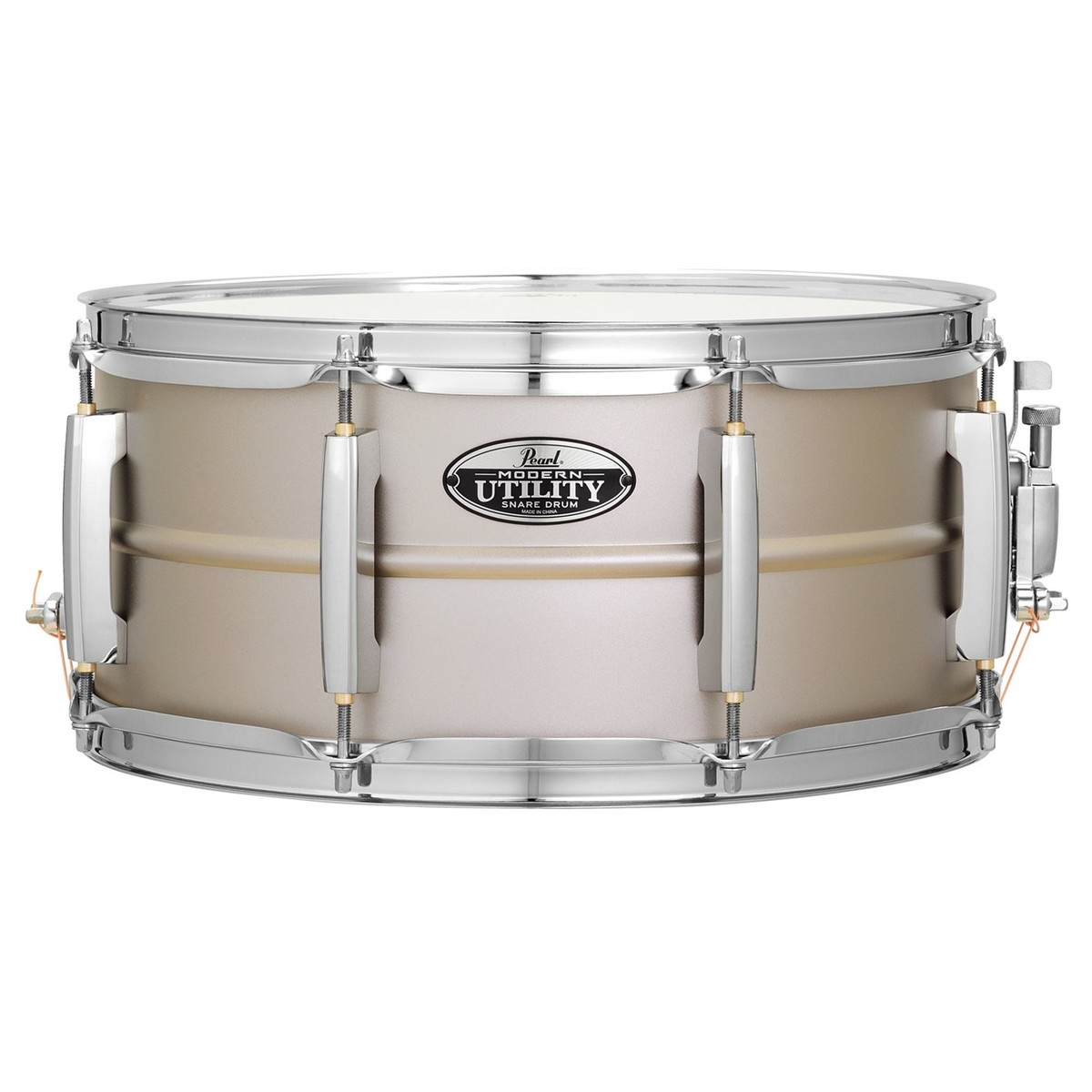 pearl modern utility steel 14 39 39 x 5 39 39 snare drum at gear4music. Black Bedroom Furniture Sets. Home Design Ideas