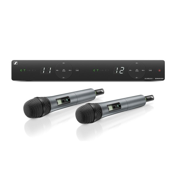 Sennheiser XSW 1-835 Dual Wireless Microphone System, E Band