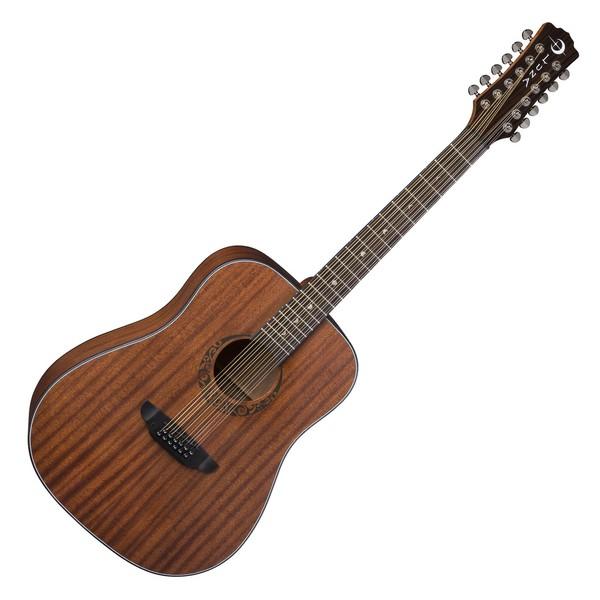 Luna Gypsy 12 String Acoustic, Satin Natural Mahogany