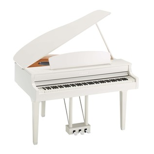 Yamaha CLP 695 Digital Grand Piano, Polished White