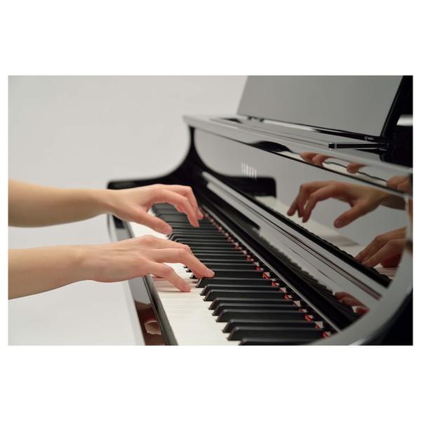 Yamaha CLP 695 Digital Grand Piano, Polished Ebony