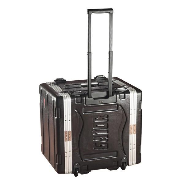 Gator GRR-8L Lockable Moulded Rolling Rack Case, 8U 1